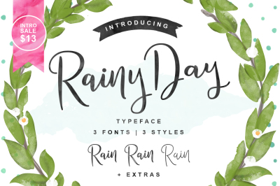Rainy Day | Intro Sale - $13
