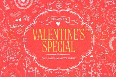 Valentine's Special Vector Objects