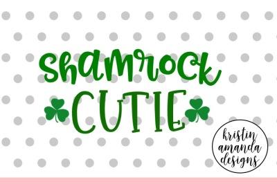Shamrock Cutie St. Patrick's Day SVG DXF EPS Cut File • Cricut • Silhouette