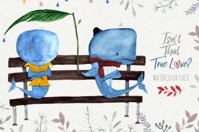 True Love Watercolor Pack