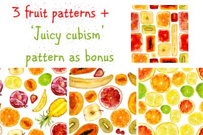 Juicy hand-drawn patterns