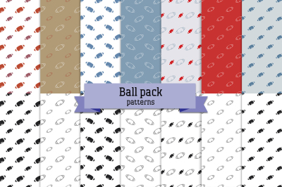Ball pack – 14 seamless patterns