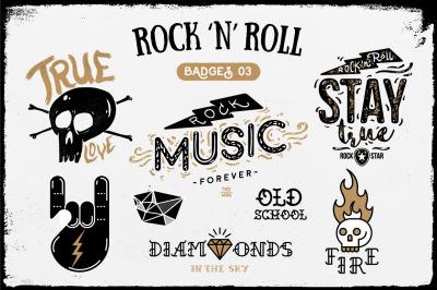 Rock 'n' Roll Badges 03