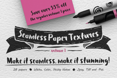 Seamless Paper Textures Vol. 1
