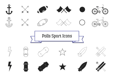 Polls Icon Collection