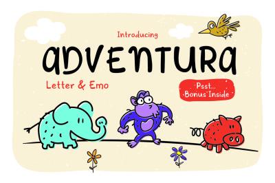 Adventura Letter & Emo