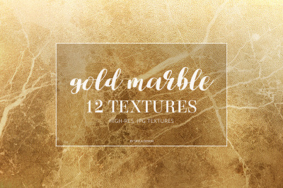 Gold marble texture patterns and backgrounds
