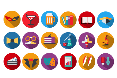 Set  web icons PSD PDF PNG Jpg