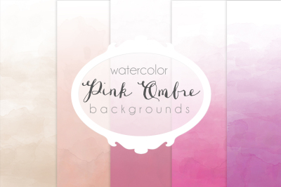 Pink Ombre backgrounds