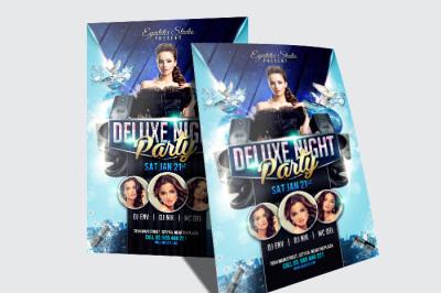 Deluxe NightParty Flyer