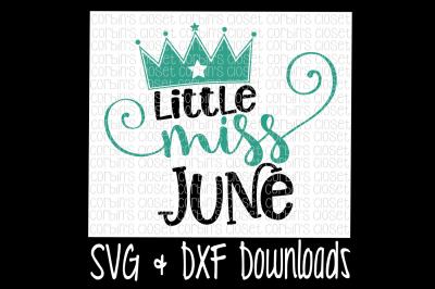 Little Miss June Cut File
