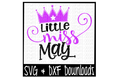 Little Miss May Cut File