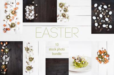 Easter - 10 stock photo bundle