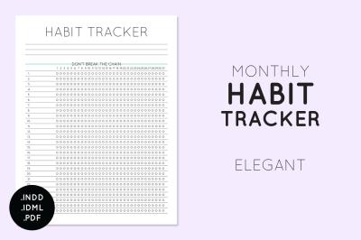 Habit Tracker - Elegant