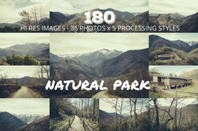 Natural Park 180 images big bundle