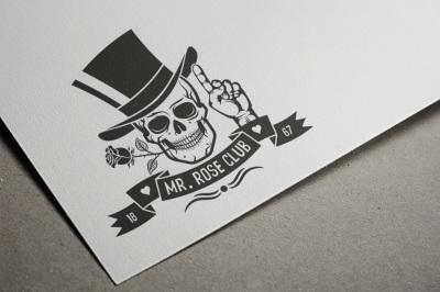 Hipster Skull Design Bundle