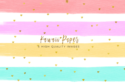 kawaii watercolor digital paper, digital paper weekly stickers, Watercolor Paint Clipart, Printable Planner Stickers Paper, paper pack