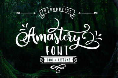 Amastery Font Duo + Extras