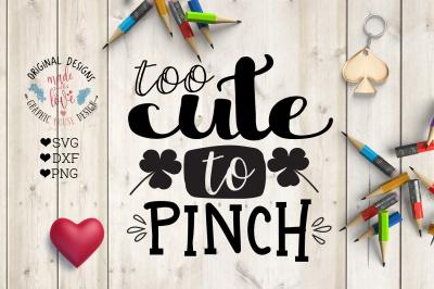Too Cute To Pinch Cutting File