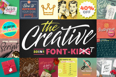 50 in 1 - The Creative FONT