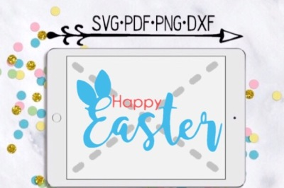 Happy Easter Cut Design