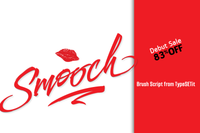 Smooch Brush Script