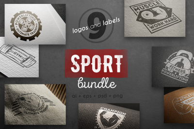 Sport logo kit
