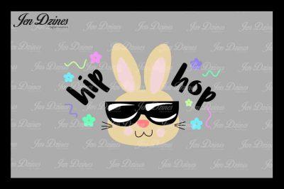 Hip Hop Bunny SVG DXF EPS PNG