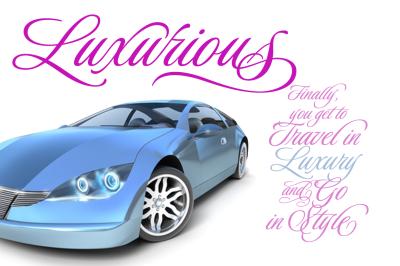 Luxurious Script 50% Off