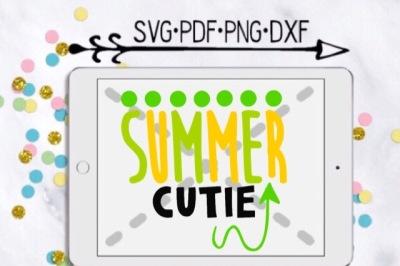 Summer Cutie Cut Design