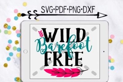 Wild Barefoot Free Cut Design