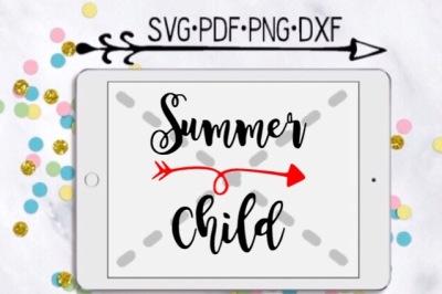 Summer Child Cut Design