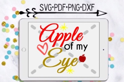 Apple Of My Eye Cutting Design