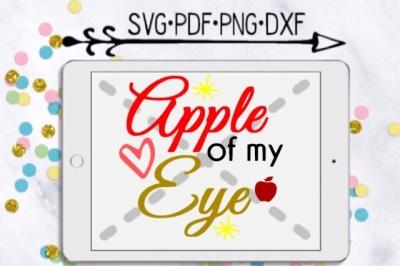Apple Of My Eye Cutting Design