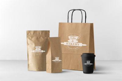 Bakery and coffee elements