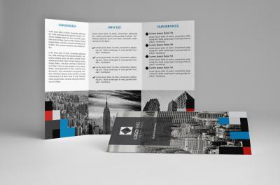 Pixel Trifold Brochure