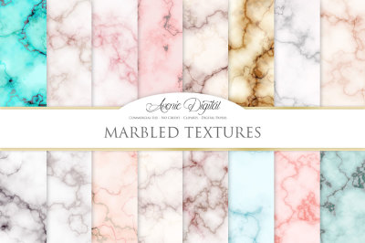 Marbled - Marble and Gold Textures