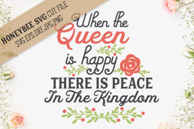 When the Queen is Happy cut file