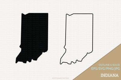 Indiana Vector / Indiana SVG