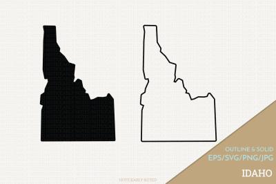 Idaho Vector / ID Vector