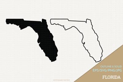 Florida Vector / FL SVG