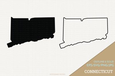Connecticut Vector / CT SVG