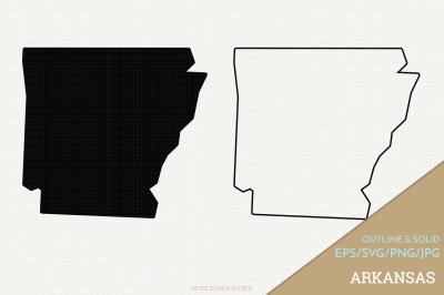Arkansas Vector / AR SVG