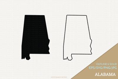 Alabama Vector / AL SVG