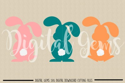 Bunny Rabbit, Easter SVG / DXF / EPS / PNG Files