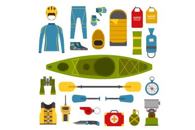 Rafting and Kayaking Set