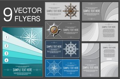 Vector Flyers Bundle