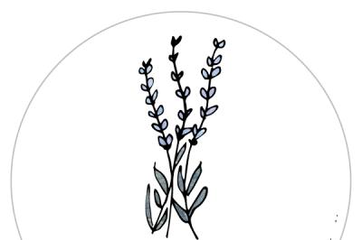 LavenderGardening Label