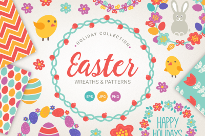 Easter Wreaths and Patterns