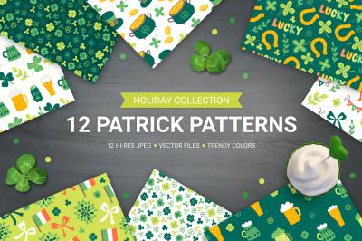 12 St. Patrick's Day Patterns
